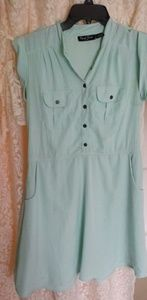 Mint Seafoam green dress